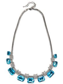 Jacques Vert Rectangle Stone Necklace