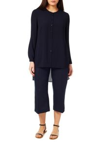 Windsmoor Navy Sheer Blouse