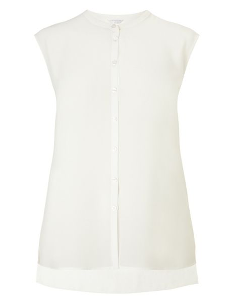 Windsmoor Ivory Sheer Soft Shirt