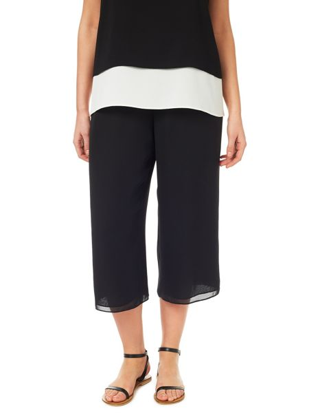 Windsmoor Black Drawstring Culottes