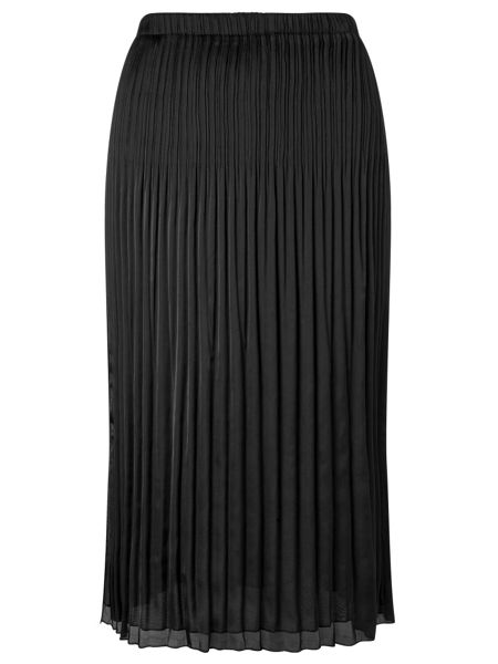 Windsmoor Black Crinkled Skirt