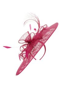 Jacques Vert Feather Disc Headpiece