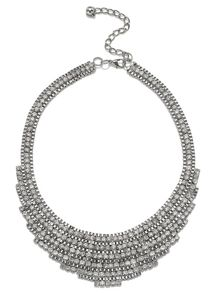 Jacques Vert Diamante Necklace
