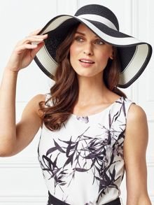 Jacques Vert Straw Floppy Hat
