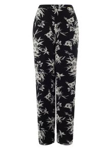 Jacques Vert Eastern Floral Print Trouser