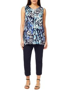 Windsmoor Animal Printed Blouse