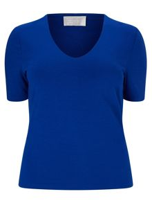 Windsmoor Cobalt Basic Jersey Top