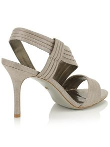 Jacques Vert Pleated Strap Sandal