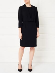 Precis Petite Jeff Banks Black Jacket