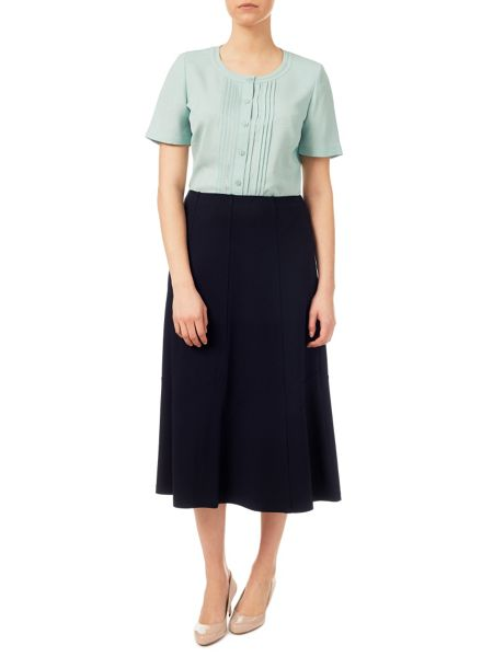 Eastex Crepe Texture Jersey Skirt
