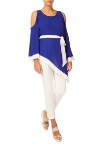 Jacques Vert Cold Shoulder Tunic