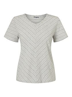 Relaxed V Neck Top