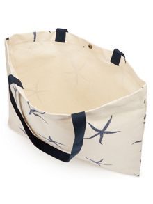 Dash Starfish Canvas Bag