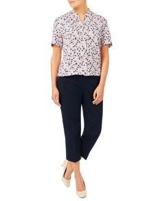 Eastex Mini Painterly Spot Blouse