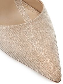 Precis Petite Gold Shimmer Pointed Court