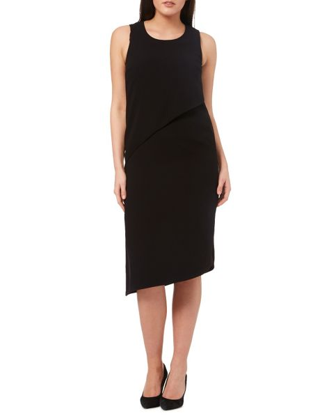 Windsmoor Black Layered Dress