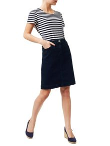 Precis Petite Clara Denim Pencil Skirt