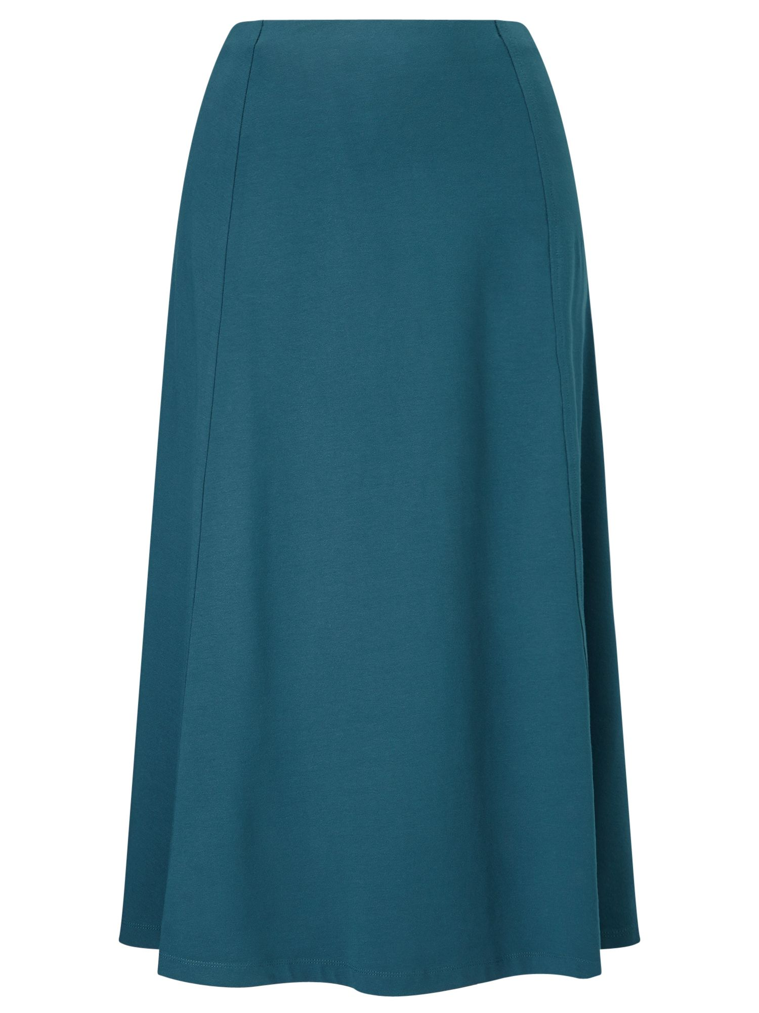Eastex Midnight Teal Jersey Skirt, Turquoise
