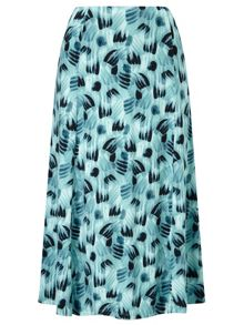 Eastex Brushstroke Jersey Skirt
