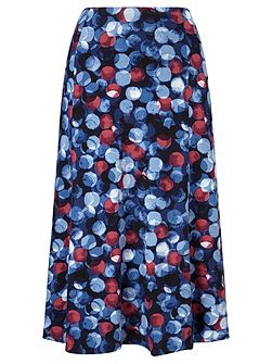 Large Painterly Skirt