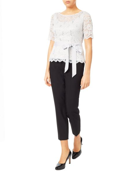 Jacques Vert Delicate Corded Lace Top