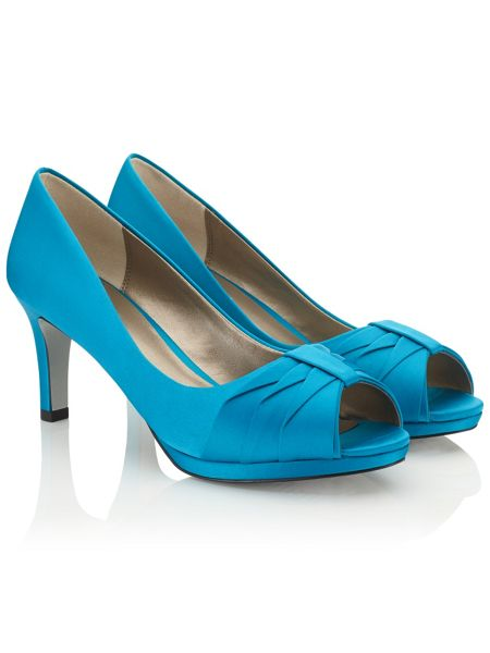 Jacques Vert Pleated Detail Shoe