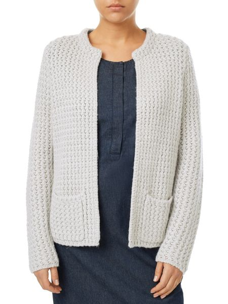 Dash Grey Knit Jacket