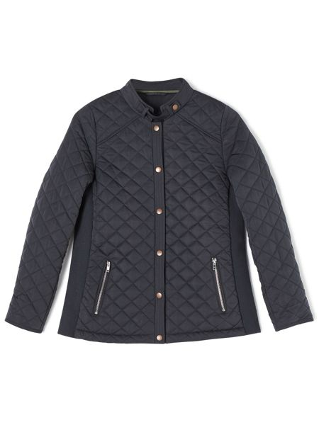 Dash Quilted Rib Side Jacket