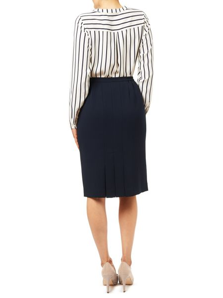 Eastex Navy Pencil Skirt