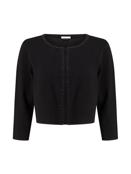 Jacques Vert Beaded Front Knit