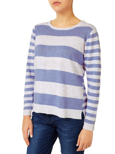 Dash Linen Stripe Jumper