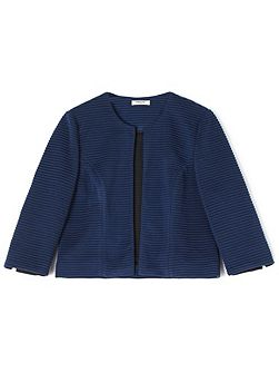 Abigail Casual Ribbed Jacket
