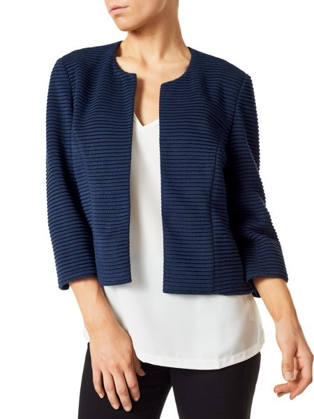 Precis Petite Abigail Casual Ribbed Jacket