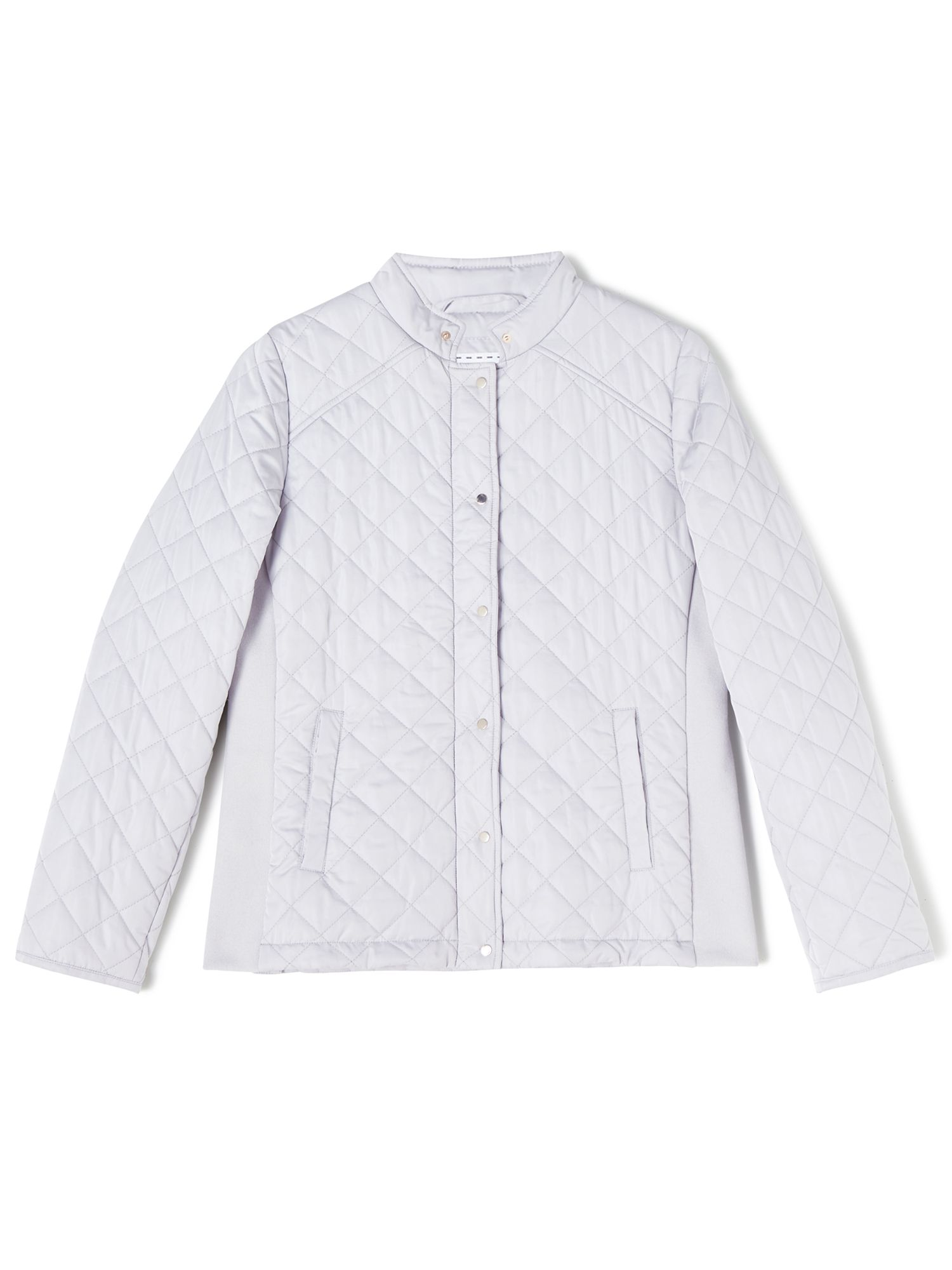Dash Short Quilted Coat, Neutral