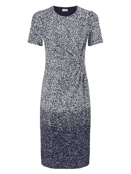 Eastex Mottled Lace Jersey Dress