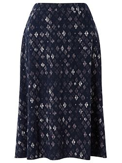 Diamond Print Skirt