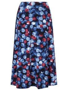 Eastex Large Painterly Skirt Short