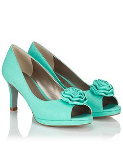 Ruffle Trim Shoe