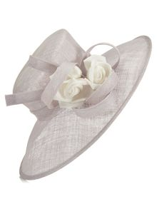 Jacques Vert Flower Twist Trim Hat