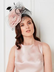 Jacques Vert Two Tone Flower Headpiece