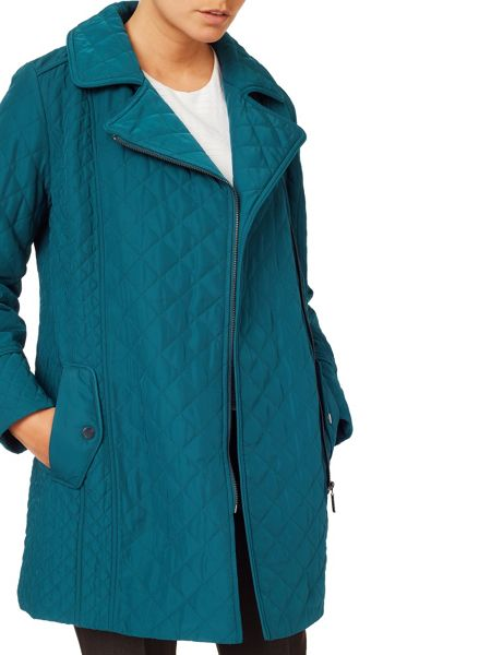 Eastex Asymmetric Padded Coat