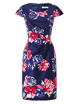 Rosa Print Shift Dress
