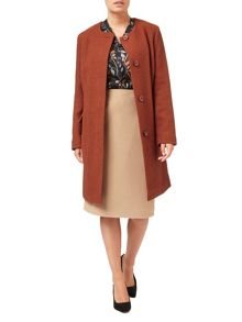 Eastex Textured Wool Coat