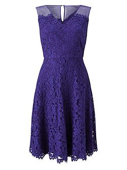 Scarlett Lace Full Skirt Dress