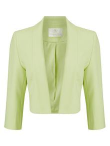 Jacques Vert Textured Edge To Edge Jacket
