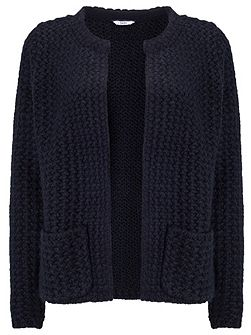 Edge To Edge Knit Cardigan