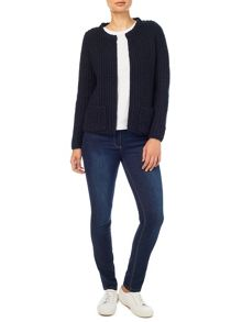 Dash Edge To Edge Knit Cardigan