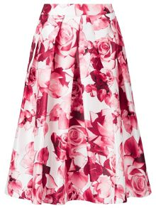 Jacques Vert Floral Print Prom Skirt