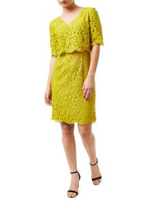 Precis Petite Sasha Lace Layered Dress