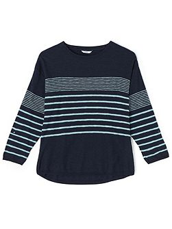 Navy Stripe Jumper